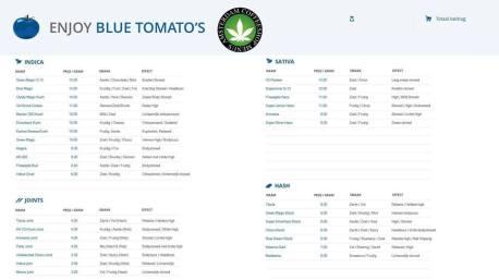 Blue Tomato Coffee shop in HOORN 2018 APRIL