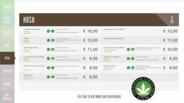 Boerejongens Coffeeshop BIJ hash 2018 july