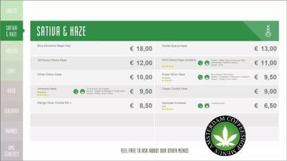 Boerejongens Coffeeshop BIJ sativa 2018 july