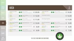 Boerejongens Coffeeshop hash CENTRE 2018 june