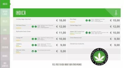 Boerejongens Coffeeshop indica CENTRE 2018 june