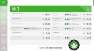 Boerejongens Coffeeshop indica WEST 2018 june