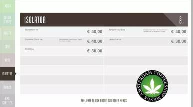 Boerejongens Coffeeshop ISO WEST 2018 june