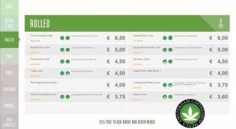 Boerejongens Coffeeshop rolled CENTRE 2018 june
