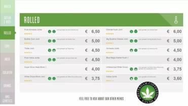Boerejongens Coffeeshop ROLLED WEST 2018 june