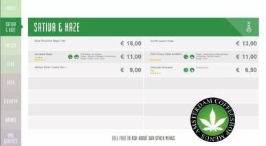 Boerejongens Coffeeshop satinva haze CENTRE 2018 june