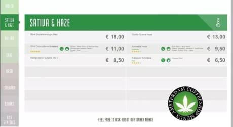Boerejongens Coffeeshop SATIVA BIJ 2018 june