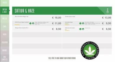 Boerejongens Coffeeshop SATIVA WEST 2018 june