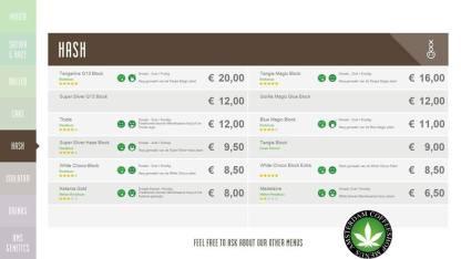 Boerejongens Coffeeshop WEST HASH 2018 may