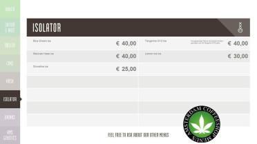 Boerejongens Coffeeshop WEST ISOLATOR 2018 may