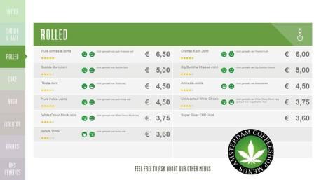 Boerejongens Coffeeshop WEST ROLLED 2018 may