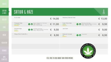 Boerejongens Coffeeshop WEST SATIVA & HAZE 2018 may