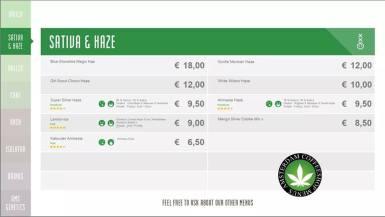 Boerejongens Coffeeshops BIJ 2018 JULY SATIVA HAZE