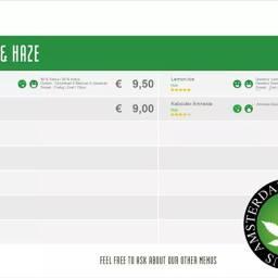 Boerejongens Coffeeshops BIJ 2018 june sativa haze