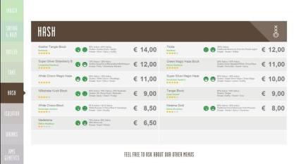 Boerejongens Coffeeshops Bij hash 2018 november