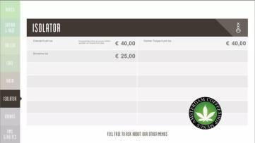 Boerejongens Coffeeshops CENTRE 2018 JULY ISO