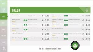 Boerejongens Coffeeshops CENTRE 2018 JULY ROLLED