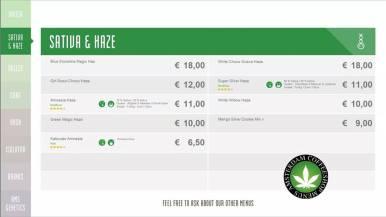 Boerejongens Coffeeshops CENTRE 2018 JULY SATIVA HAZE