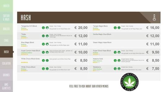 Boerejongens Coffeeshops CENTRE 2018 JUNE HASH