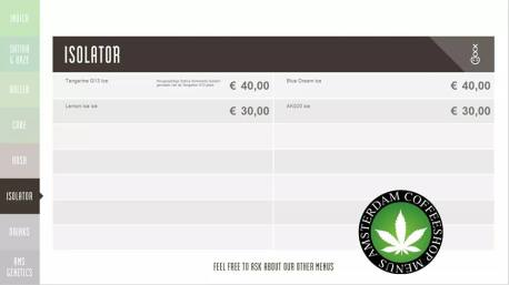 Boerejongens Coffeeshops CENTRE 2018 JUNE ISO