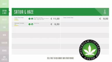 Boerejongens Coffeeshops CENTRE 2018 JUNE SATIVA