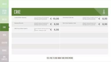 Boerejongens Coffeeshops CENTRE CAKE 2018 SEPTEMBER