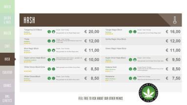 Boerejongens Coffeeshops CENTRE HASH 2018 AUGUST