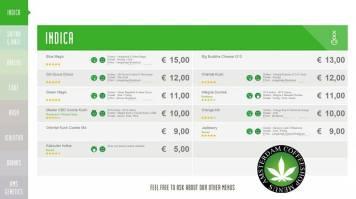Boerejongens Coffeeshops CENTRE INDICA 2018 JUNE