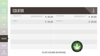 Boerejongens Coffeeshops CENTRE ISO 2018 AUGUST