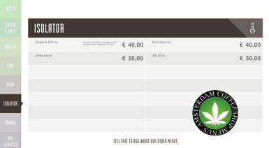 Boerejongens Coffeeshops CENTRE ISO 2018 JUNE