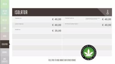 Boerejongens Coffeeshops CENTRE ISOLATOR 2018 september