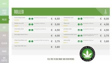 Boerejongens Coffeeshops CENTRE ROLLED 2018 JUNE