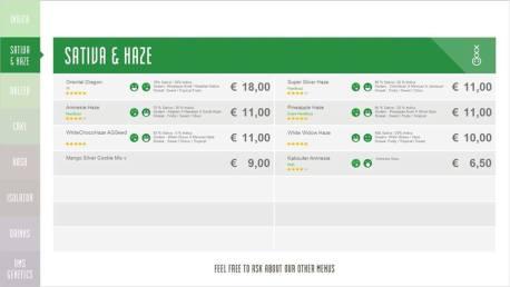 Boerejongens Coffeeshops CENTRE SATIVA 2018 SEPTEMBER