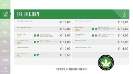 Boerejongens Coffeeshops CENTRE SATIVA HAZE 2018 AUGUST