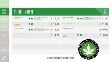 Boerejongens Coffeeshops CENTRE SATIVA HAZE 2018 JUNE