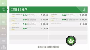 Boerejongens Coffeeshops CENTRE SATIVA HAZE 2018 september