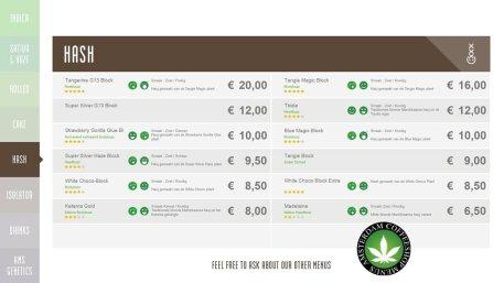 Boerejongens Coffeeshops hash WEST 2018 march