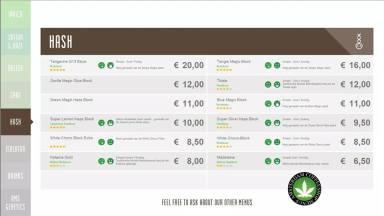 Boerejongens Coffeeshops WEST 2018 HASH