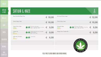 Boerejongens Coffeeshops WEST 2018 JULY SATIVA HAZE