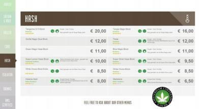 Boerejongens Coffeeshops WEST 2018 june hash
