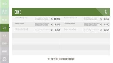 Boerejongens Coffeeshops WEST cake 2018 november