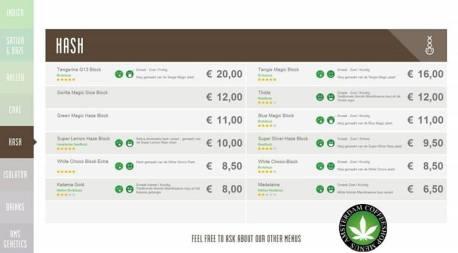 Boerejongens Coffeeshops WEST HASH 2018 JUNE