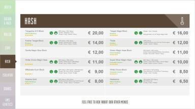 Boerejongens Coffeeshops WEST HASH 2018 SEPTEMBER