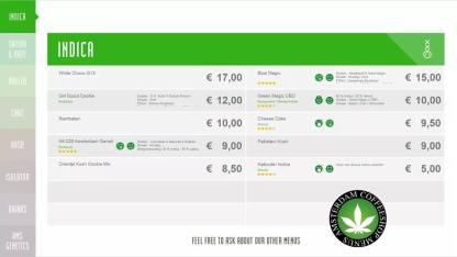Boerejongens Coffeeshops WEST indica 2018 august