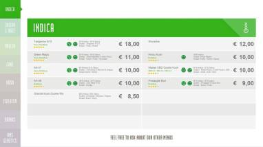 Boerejongens Coffeeshops WEST INDICA 2018 SEPTEMBER