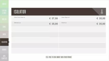 Boerejongens Coffeeshops WEST ISO 2018 SEPTEMBER