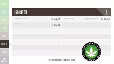 Boerejongens Coffeeshops WEST isolator 2018 august