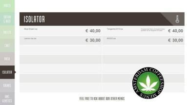 Boerejongens Coffeeshops WEST ISOLATOR 2018 JUNE