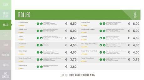 Boerejongens Coffeeshops WEST rolled 2018 october