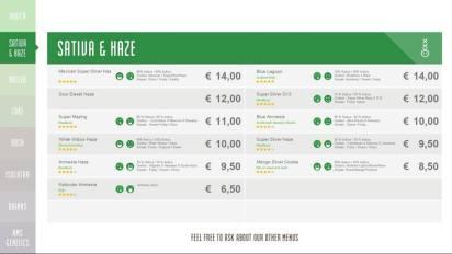 Boerejongens Coffeeshops WEST sativa 2018 november